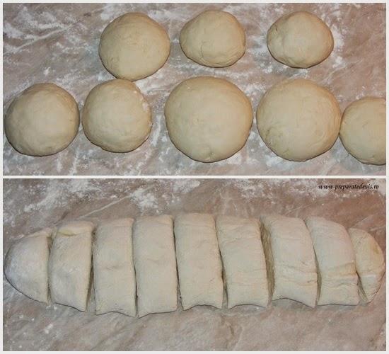 preparare aluat de paine, preparare coca de paine, cum se face aluatul de casa pentru paine, retete culinare, preparate culinare, aluaturi si cocaturi, preparare floare de paine,