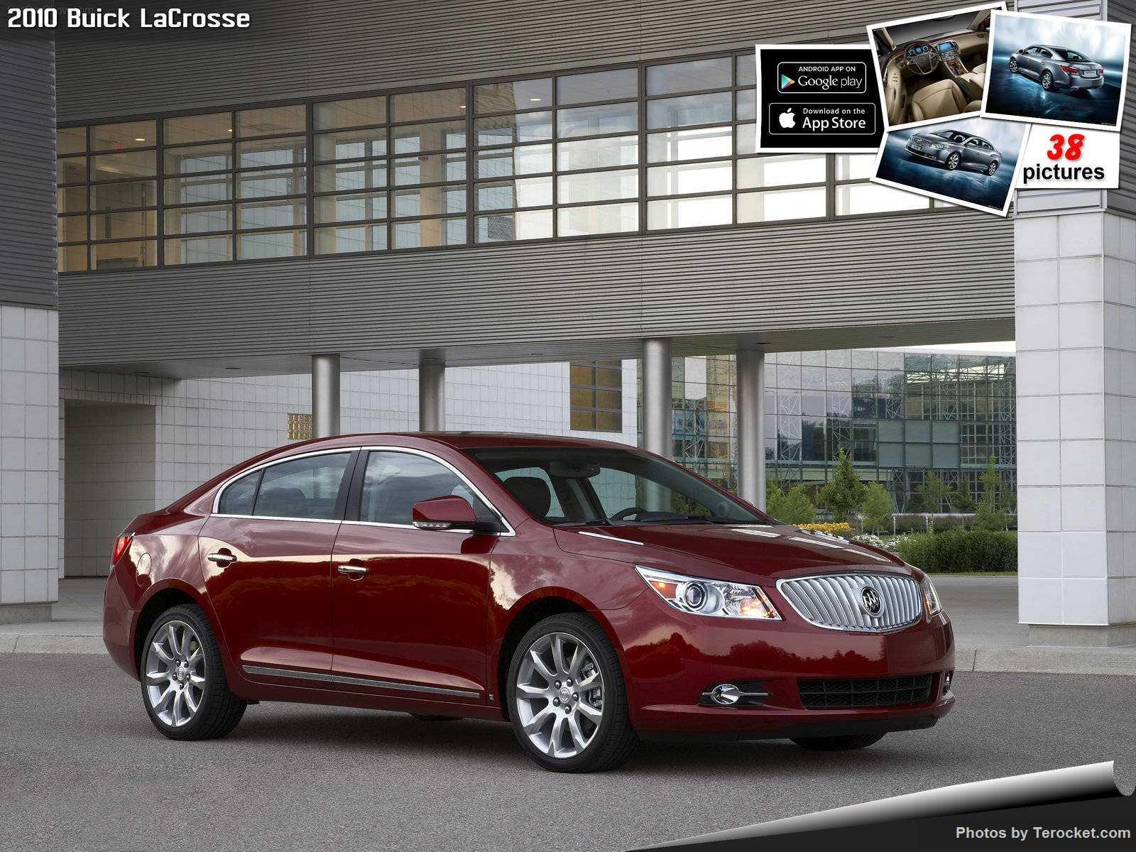 Hình ảnh xe ô tô Buick LaCrosse 2010 & nội ngoại thất