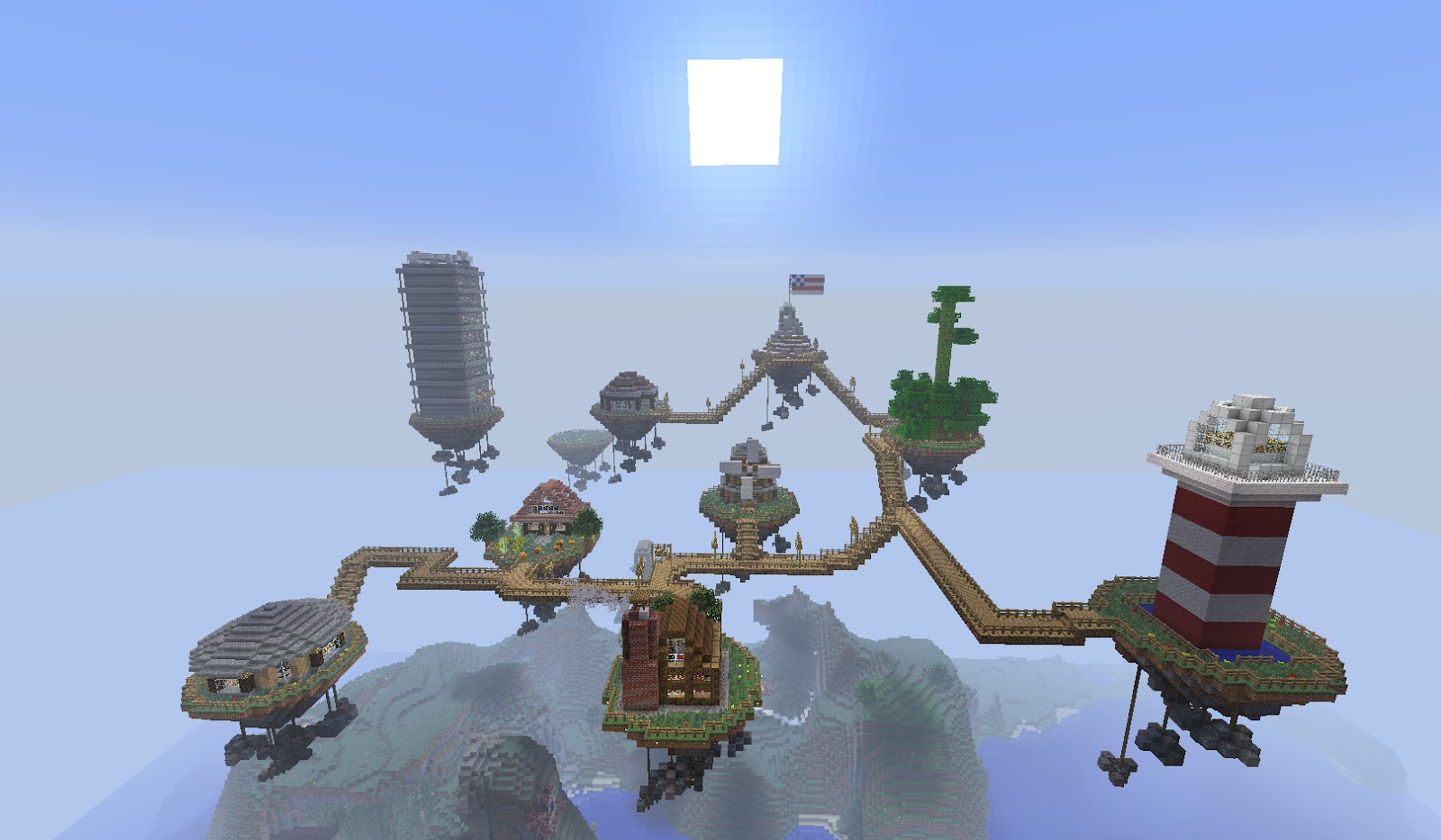 Minecraft Blog Server Image Showcase