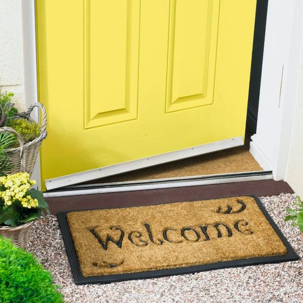 Open Door Welcome Mat