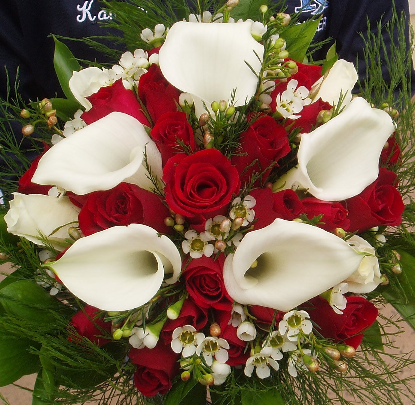 Wedding Flowers Lilies : Wedding decor calla lily flowers decorate in a