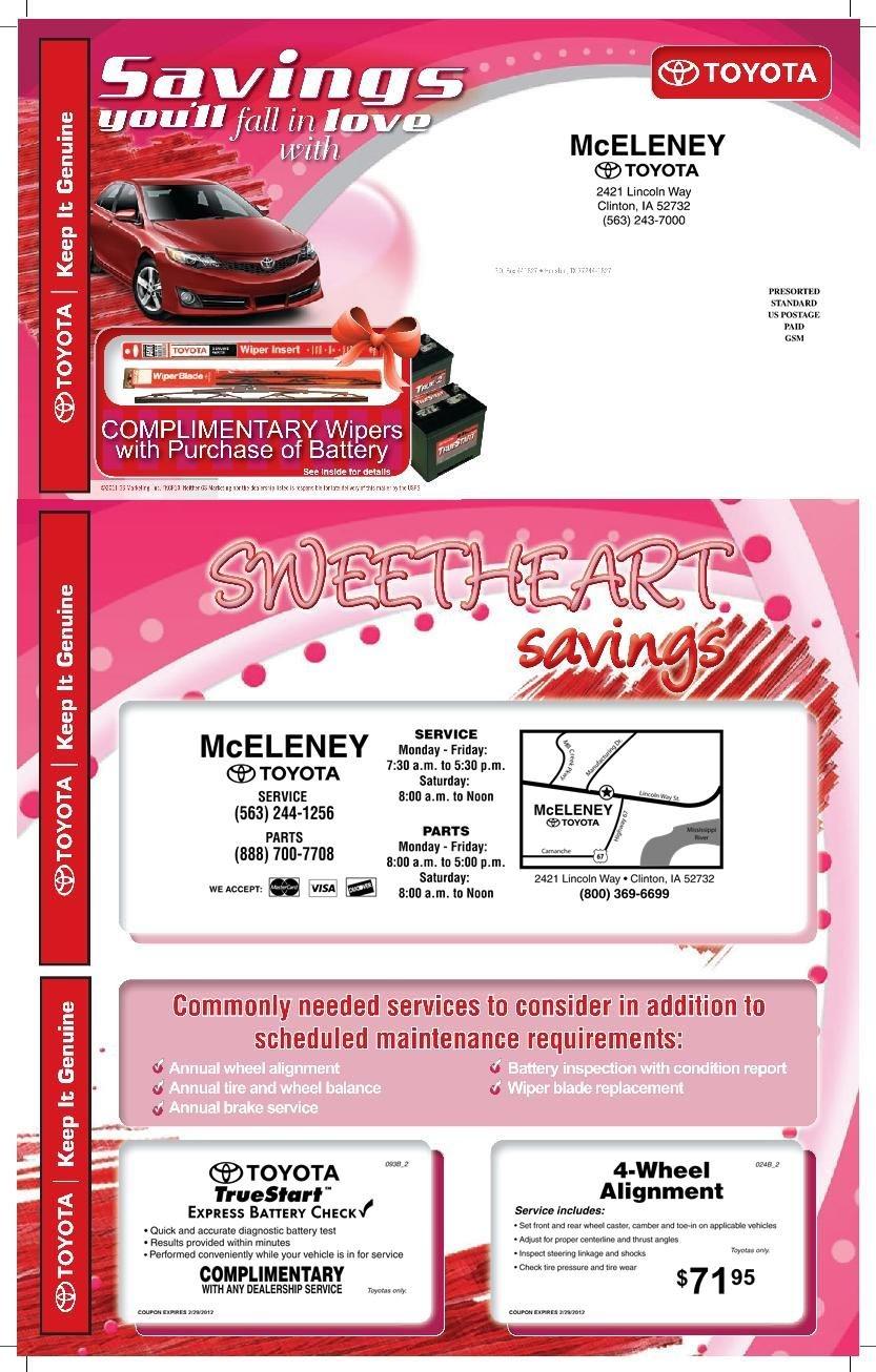 Gmc service coupons