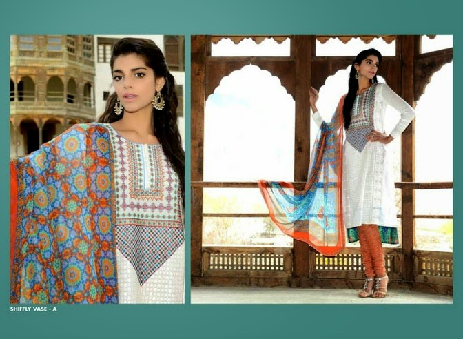 WardaSaleemLawn2014ByShariqTextile wwwfashionhuntworldblogspot 7  - Warda Saleem Lawn Collection 2014 By Shariq Textile