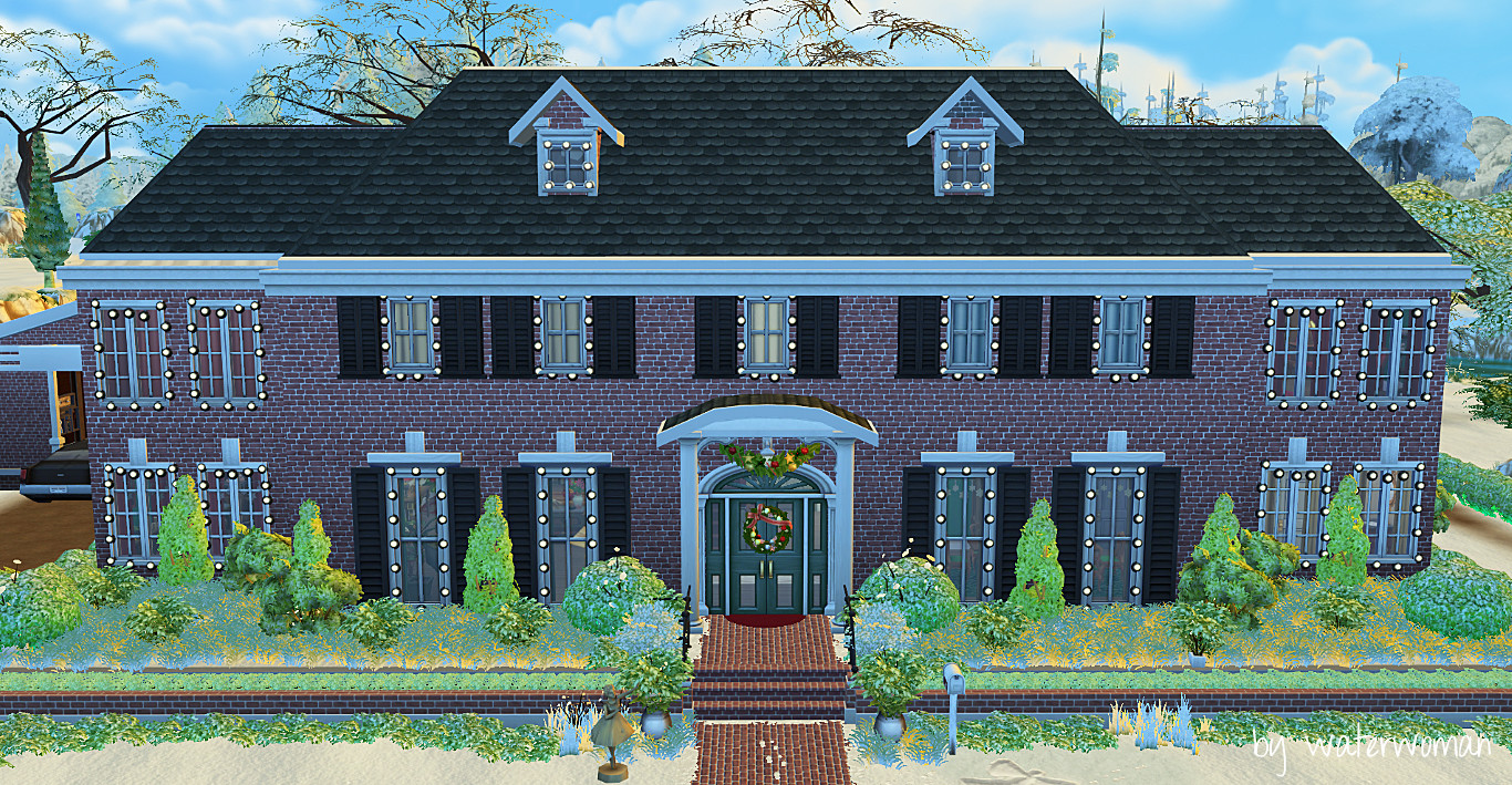 My Sims 4 Blog: Home Alone Mcallister House by WaterWoman
