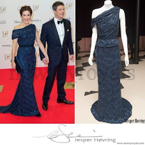 Crown Princess Mary wore JESPER HOVRING Dress