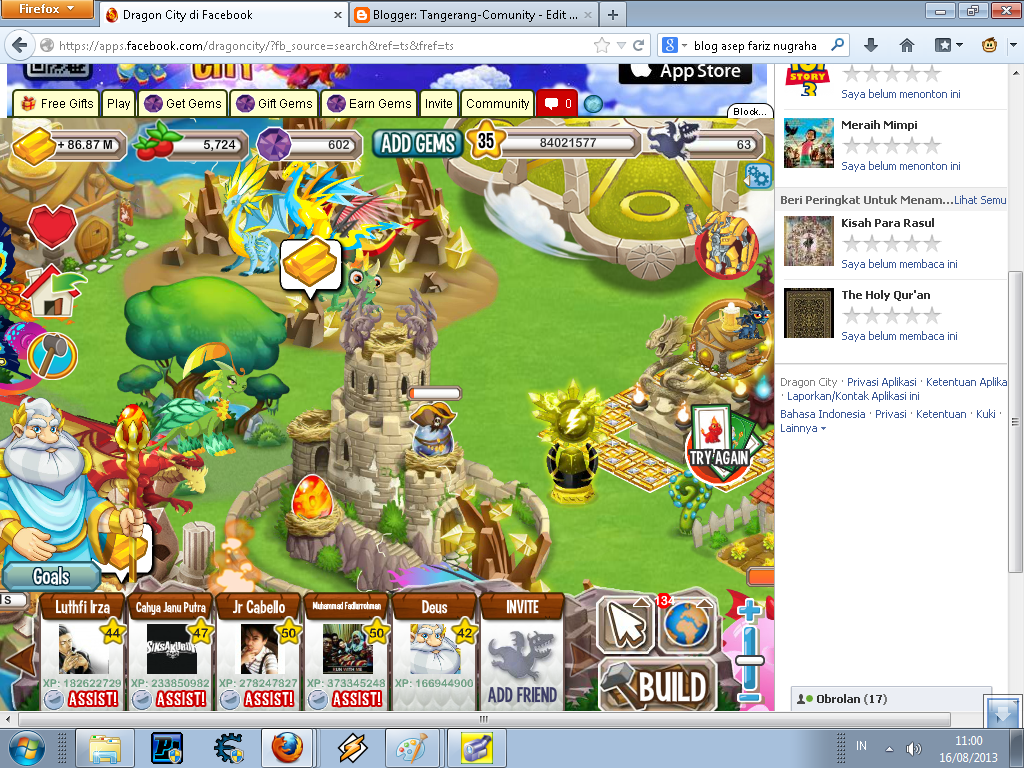 kita akan membahas cheat dragon city 1 buka dragon city