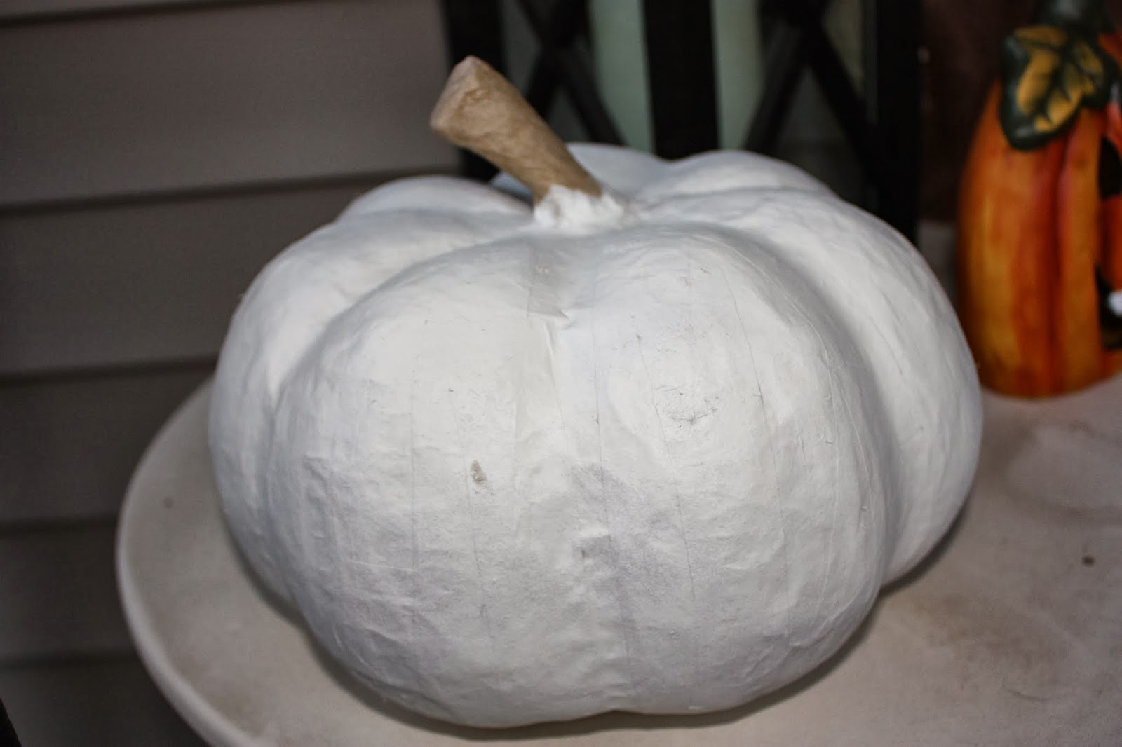 Pretty Little Things For Home Life Paper Mache Pumpkin