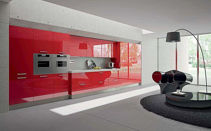 Dise o de cocinas con puertas en acr lico for Puertas de cocina baratas