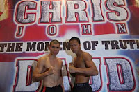 Chris John VS Daud Yordan