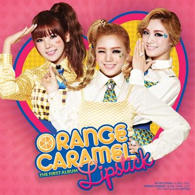 Orange Caramel members Lipstick