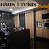 Cozinhas decoradas em preto e madeira – veja modelos lindos!