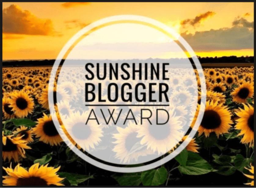 My Sunshine Blogger Award