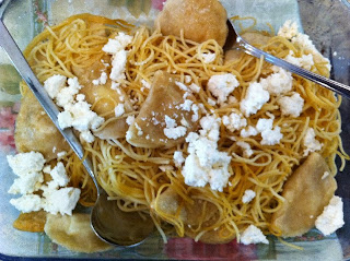 קלסונס (כיסונים) עם גבינה לשבועות