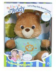 my friend teddy in box