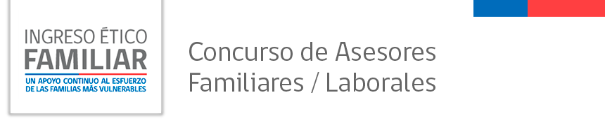 Concurso de Asesores Familiares/Laborales
