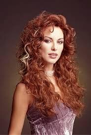 Peinados de Mujer con Cabello Ondulado Largo, parte 1