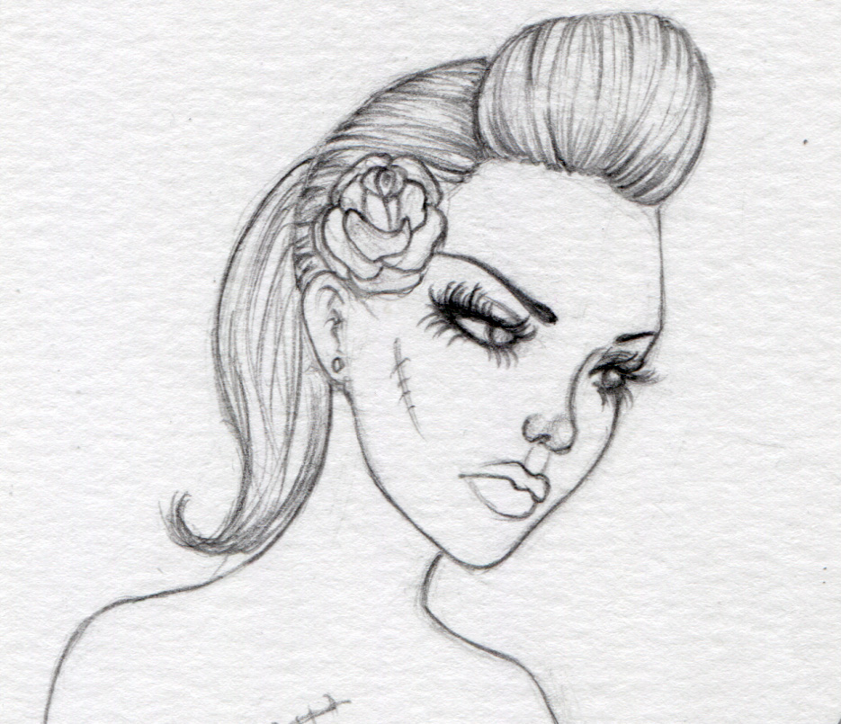 The Fantasy Art Of Nikki Burnette How I Draw Faces