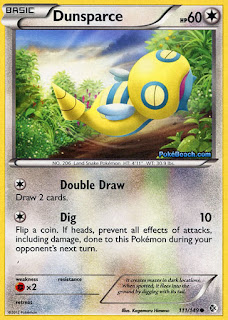Dunsparce Boundaries Crossed Pokemon Card
