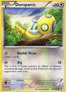 Dunsparce Boundaries Crossed Pokemon Card