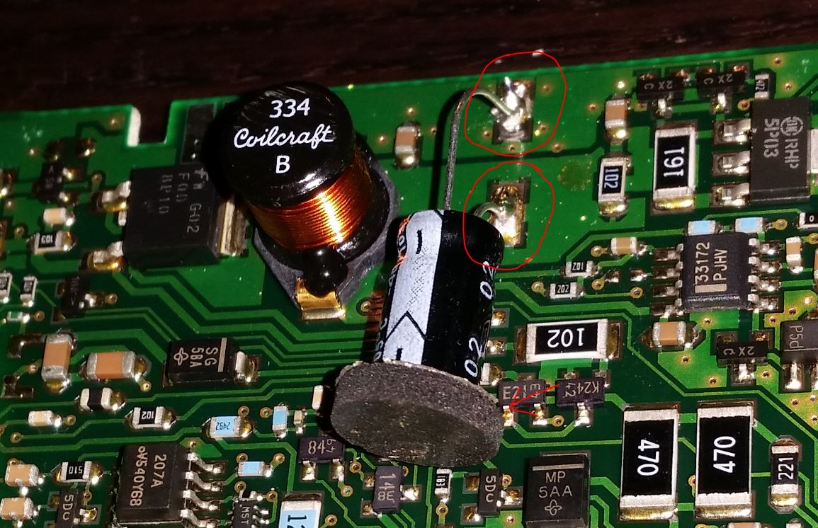 Battery Drain Acurazine Acura Enthusiast Community 2010 Mdx Fuse Diagram Step 9 Place The Daughter Board Back On Push It All Way Through Two Boards In Plastic Trim Watch Out For Clip I Marked By