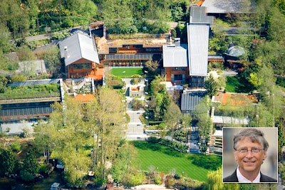 bill gates house pictures