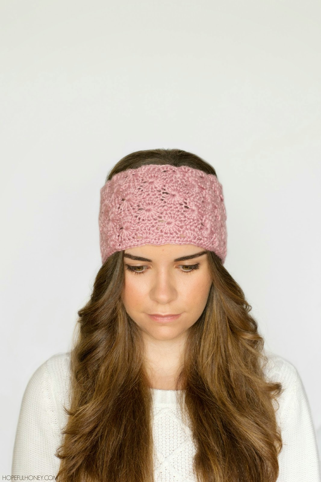 free crochet pattern lace headband