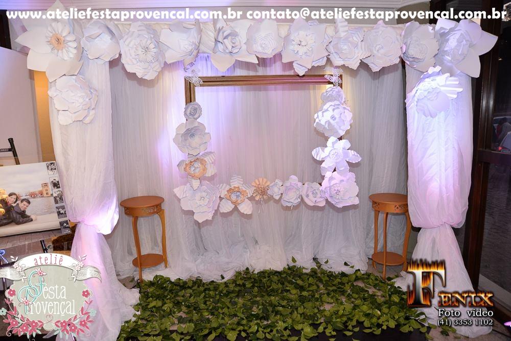 Ateli u00ea Festa Provençal Como Usar as Flores Gigantes em 3 cenários para Casamento -> Decoração De Aniversário Com Flores Gigantes