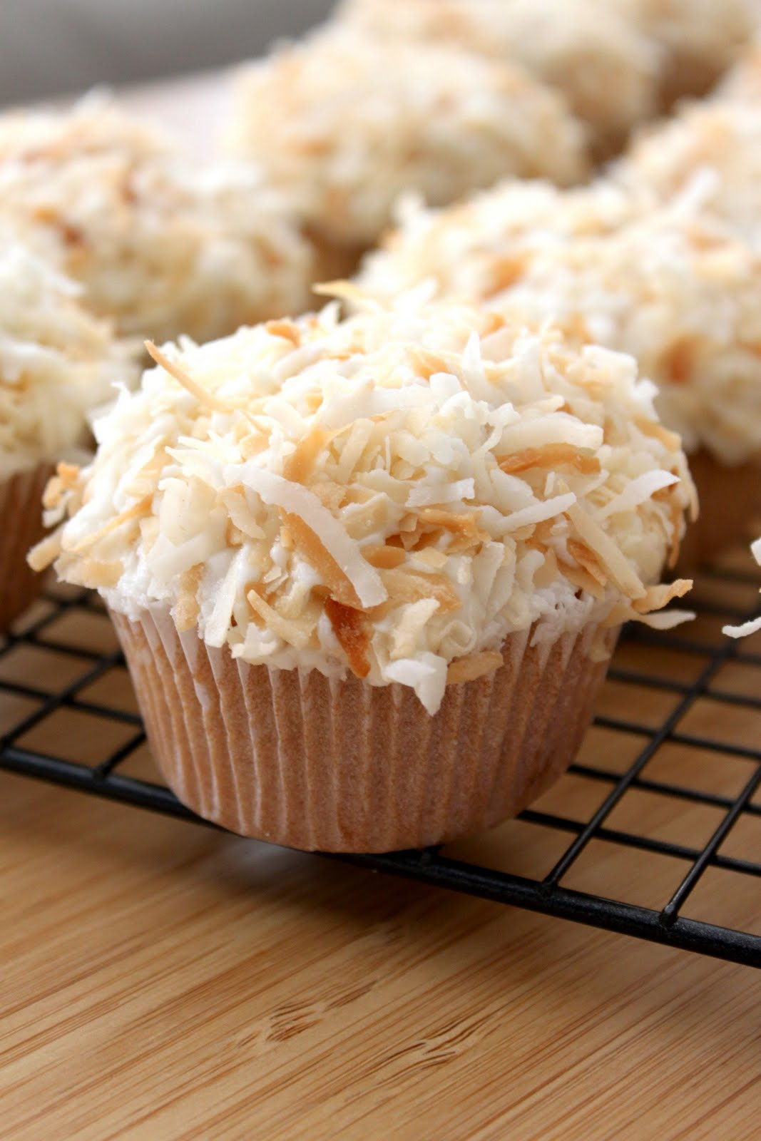 Coconut Cupcakes Recipe — Dishmaps
