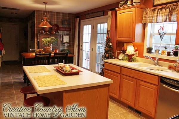 Creative country mom 1000th post warm winter touches in for Kitchen 87 mount holly