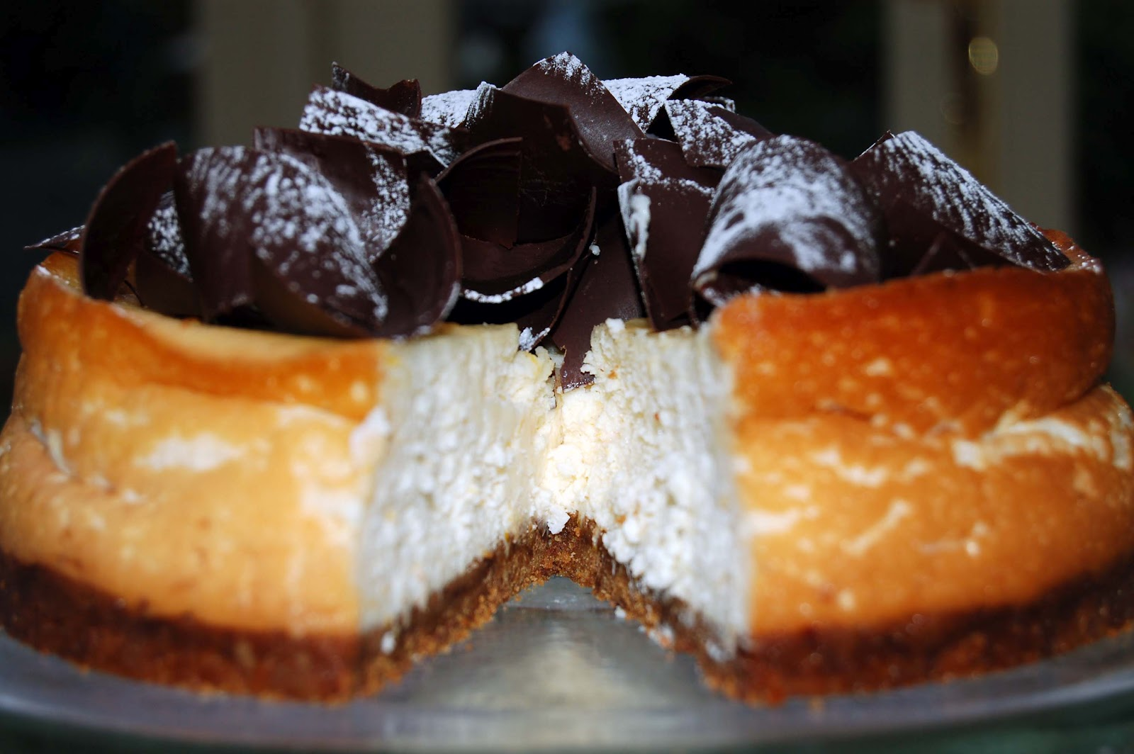 Chocolate Orange Cheesecakes Recipe — Dishmaps