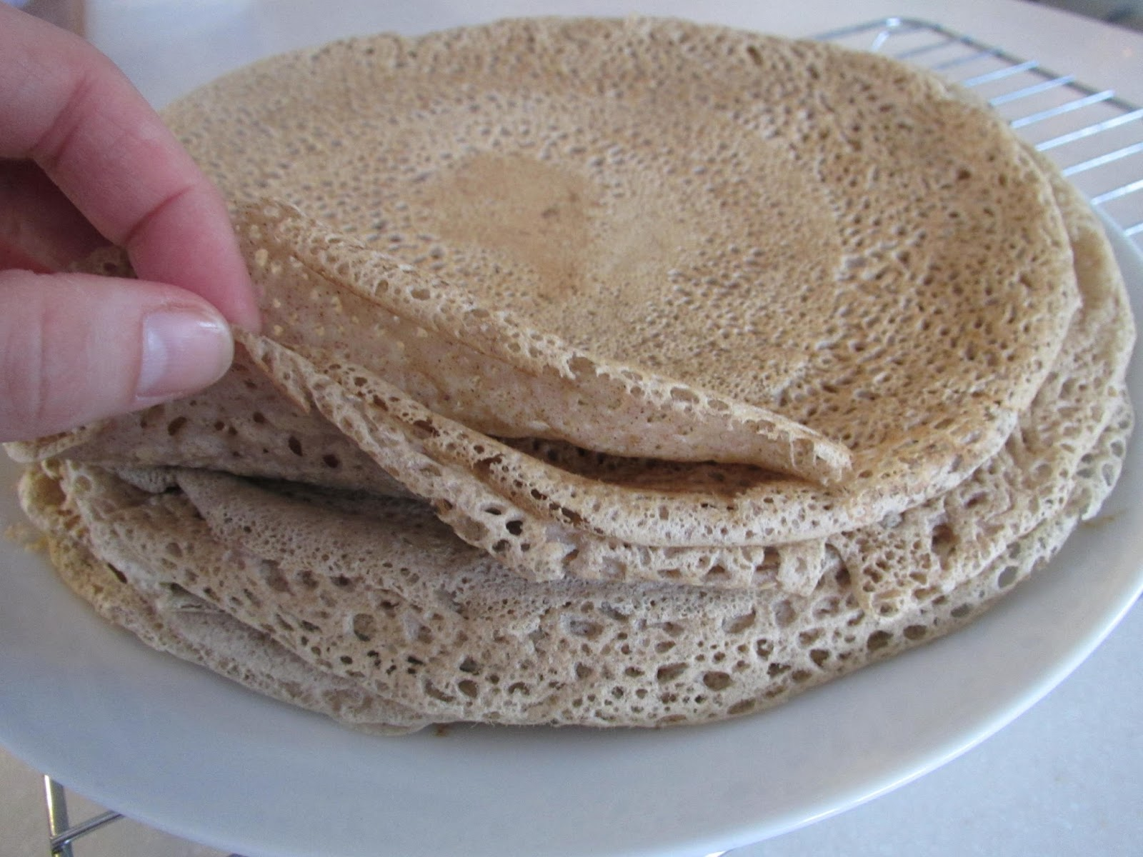 ... Gluten Free! : Gluten-Free Hearty Crepes (with Buckwheat Flour