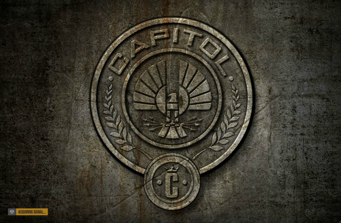 Hunger Games District 12 Sign Welcome to District 12...