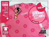 kaos anak perempuan jilbaber pink