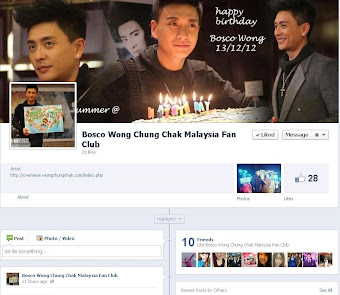 Officially announce Bosco Wong Like Page