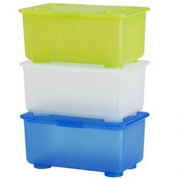 Ideas para el almacenamiento de los juguetes en las for Cajas almacenamiento ikea