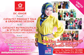 CATALYST PRODUCT TALK - BY DC JOHOR