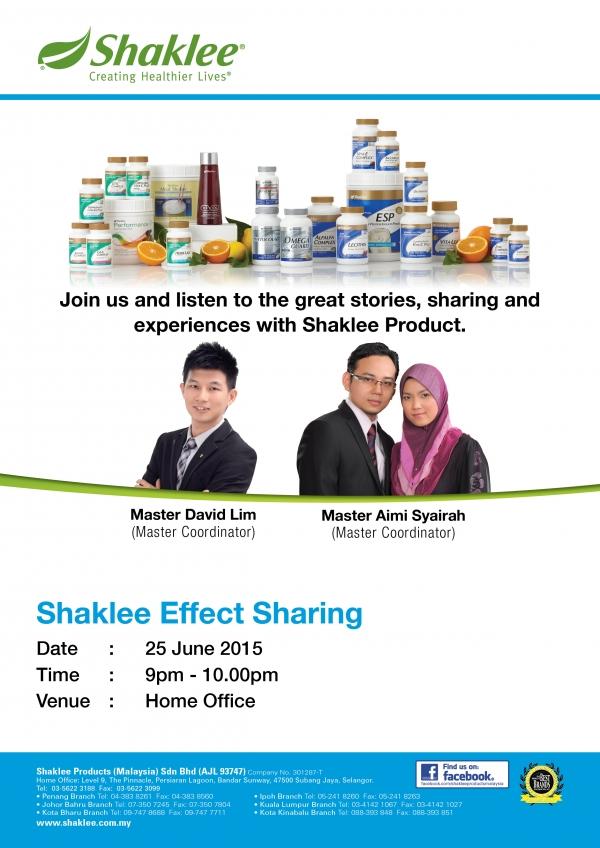 Shaklee Effect Sharing