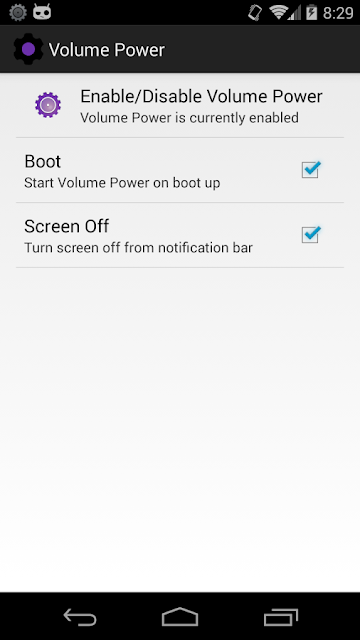 Turn on android phone without power button