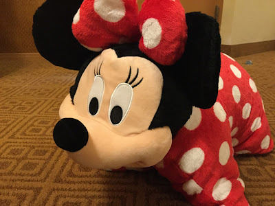 Minnie Mouse pillow pal