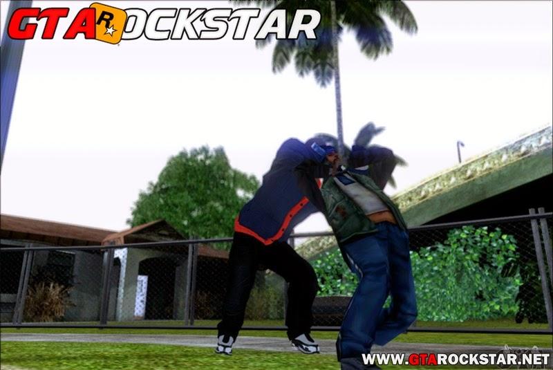GTA SA - Skin Franklin (Ladrão) Convertido do GTA V