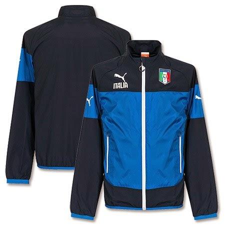 2014-15 Italy Puma Leisure Jacket (Blue)