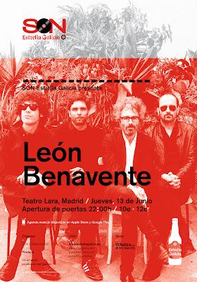 Leon Benavente en Teatro Lara (Madrid)
