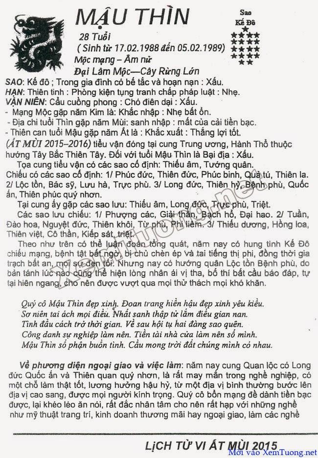 Tu Vi Tuoi Binh Thin 1976 Nam 2014 | Consejos De Fotografía