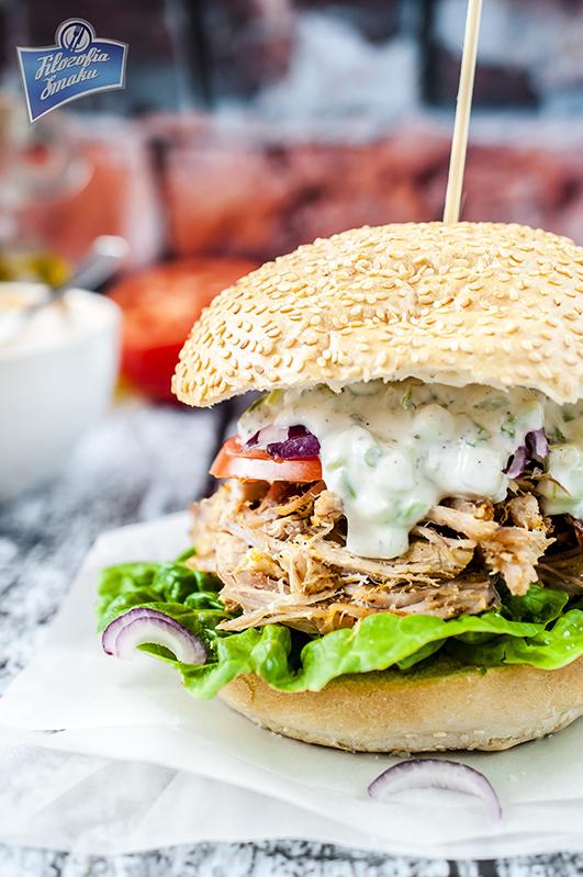 Sandwich z pulled pork przepis
