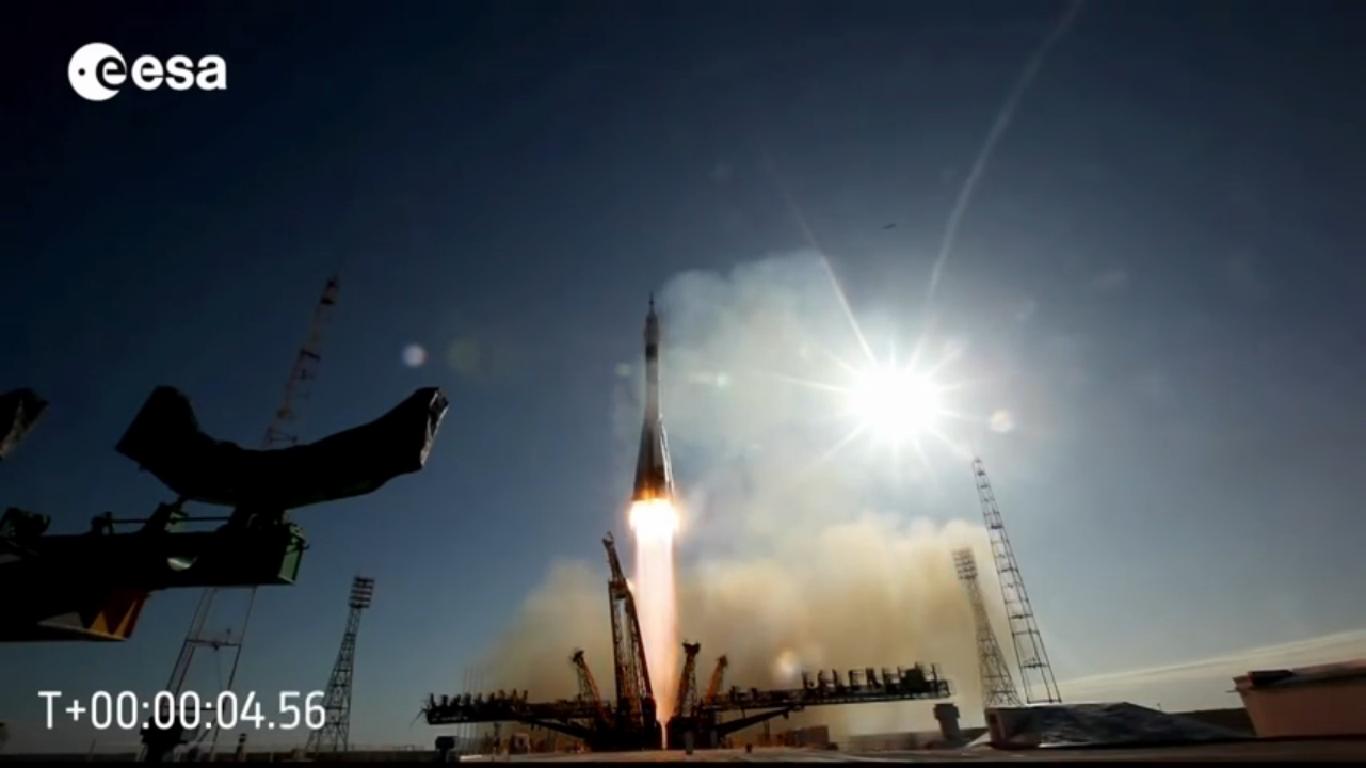 """""""The Soyuz launch sequence explained"""", come raggiungere la Stazione Spaziale Internazionale, spettacolari video by ESA 1/3"""