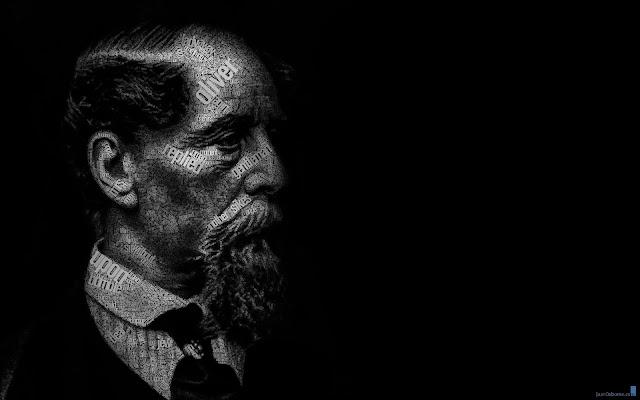 "(Juan Osborne) Portrait ""Charles Dickens"""