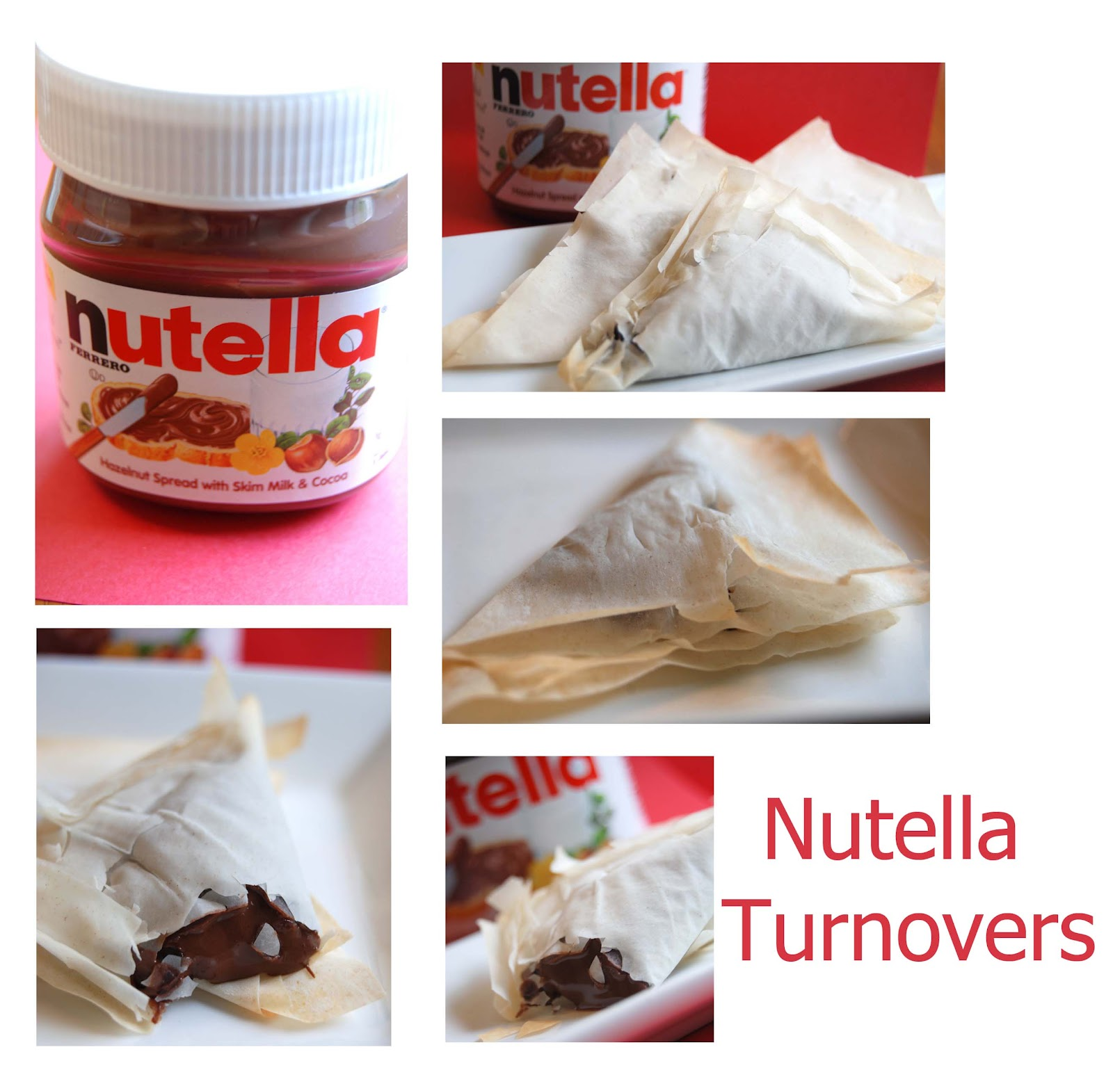 Nutella Turnovers
