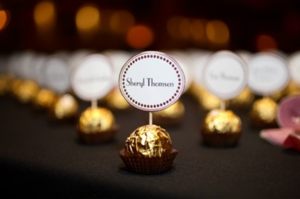 Looking For Some Inexpensive DIY Favors That Also Act As Place Cards This Project Does Both Smarty Had A Party Posted Incredible Idea The