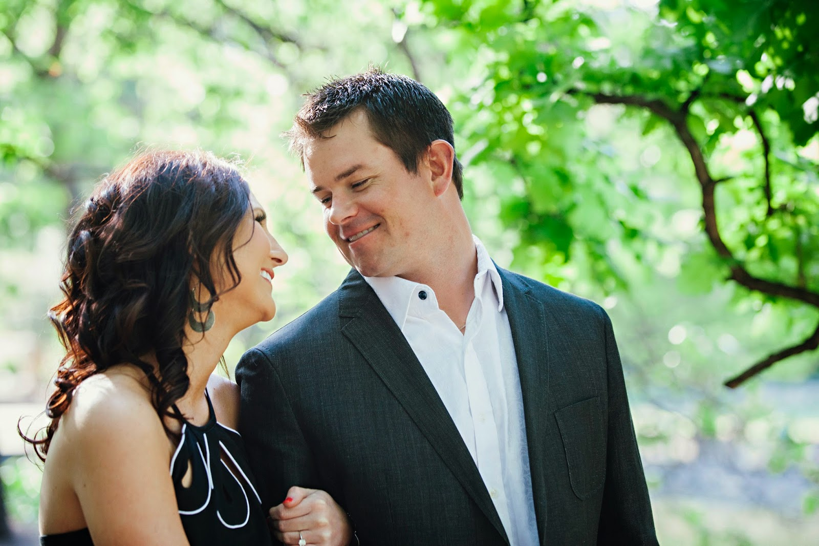 Engagement Photo, McGowan Images, Fort Worth Botanical Gardens