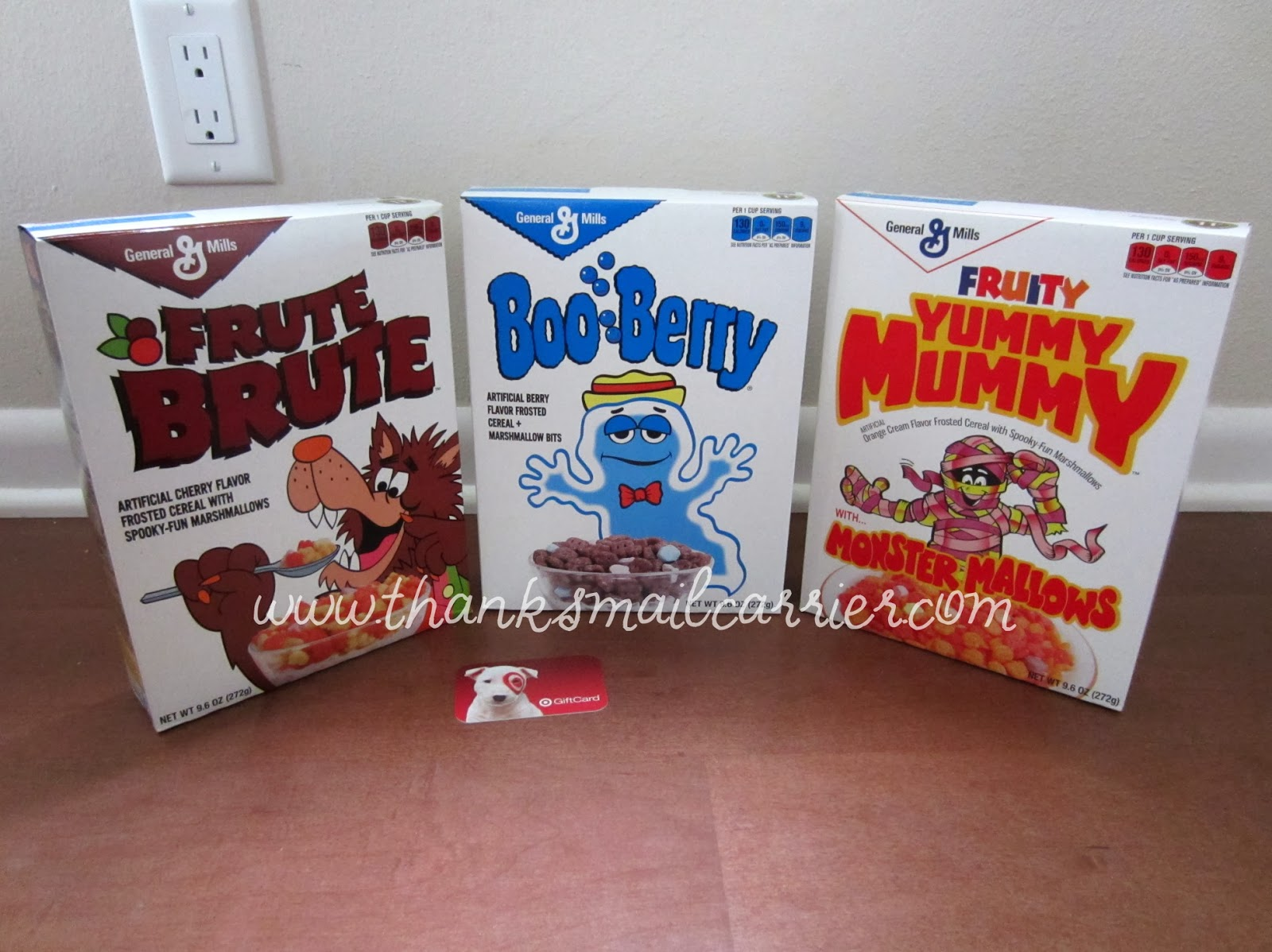General Mills retro cereals